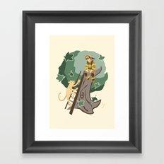 Stuck in a Tree Framed Art Print