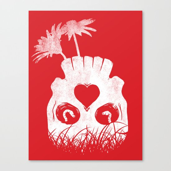 Love is where you find it Canvas Print
