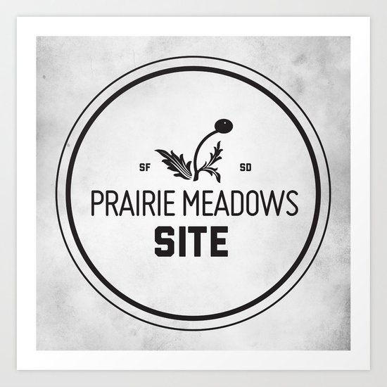 Prairie Meadows Site Art Print