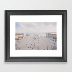 Urban Silence Framed Art Print