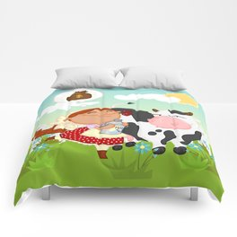 The milkmaid Comforters