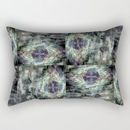 Scaffold Of Time Rectangular Pillow