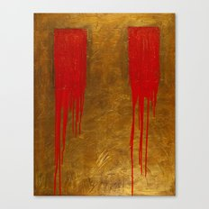 Bleeding Bronze Canvas Print