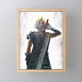Soldier Living legacy Framed Mini Art Print