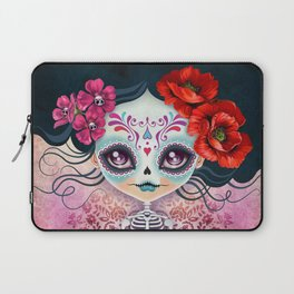 Amelia Calavera - Sugar Skull Laptop Sleeve