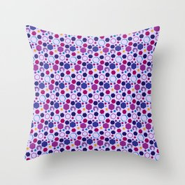 Twist of Shapes Throw Pillow