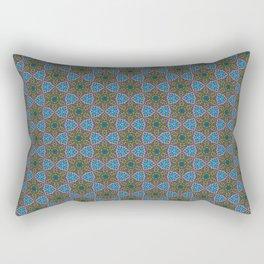 Embroidered Kaleidoscope - Stars Rectangular Pillow