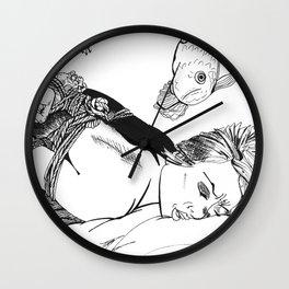 Kinbaku Shibari Wall Clock