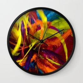 Colors of Carnaval Wall Clock