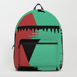 Moon Over Four Peaks Backpack