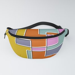 Boxes And Colors Fanny Pack