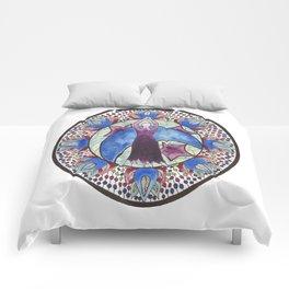 Goddess of Moon and Stars Comforters