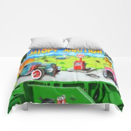 Jalopy Junction 3 Comforters