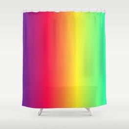rainbow abstract Shower Curtain