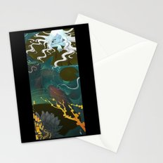 Sprite and Lilies Stationery Cards