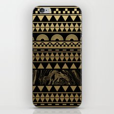 DIAMONDS AND GOLD iPhone & iPod Skin
