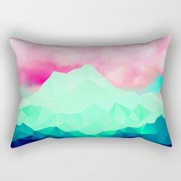Twerk Clouds Rectangular Pillow