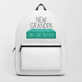 New Grandpa On The Block Backpack