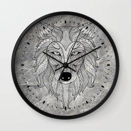 S-Wolf Mood Wall Clock