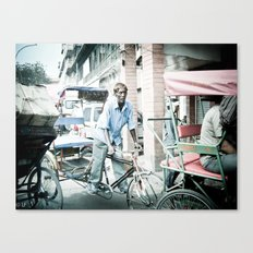 rickshaw- still life Canvas Print