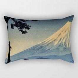 Seeing Far Within at Yonu Rectangular Pillow