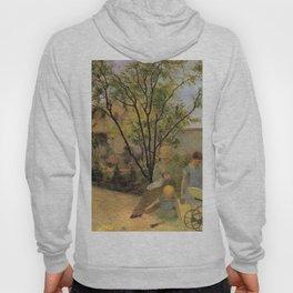 La famille du peintre au jardin, rue Carcel - Paul Gauguin (1881) Hoody