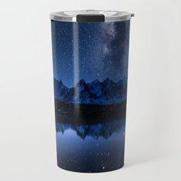 Night mountains Travel Mug