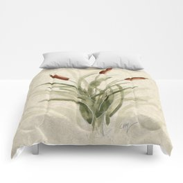 cattails 2 Comforters
