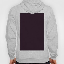 Simply Deep Eggplant Purple Hoody