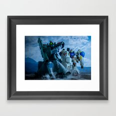 ESCORTING GP02 Framed Art Print