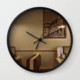 At the Cafe Wall Clock