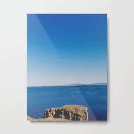 West Fjords at the Edge of the World Metal Print