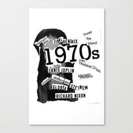 Misanthrope 70's Shirt Canvas Print