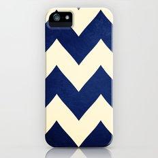 Fleet Week - Navy Chevron Slim Case iPhone (5, 5s)