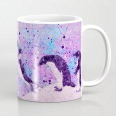 Up, Up and ahhhh Splash - Penguin Geometry Art Mug