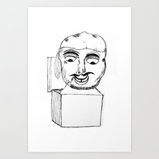 Jack in the Box Art Print