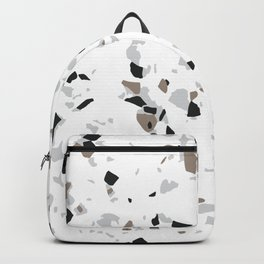 Terrazzo White Backpack