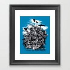 Treasures of the Deep Framed Art Print