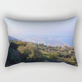 Tel Katzir, Israel Rectangular Pillow