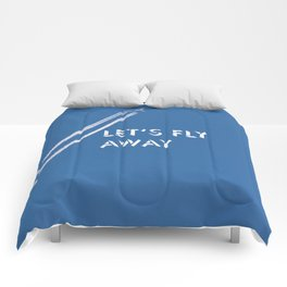 Let's fly away Comforters