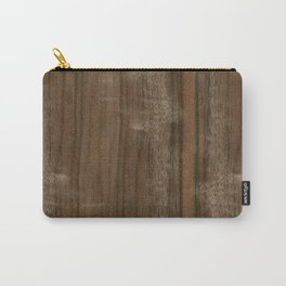 Australian Walnut Wood Carry-All Pouch
