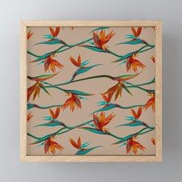 Birds wander Framed Mini Art Print