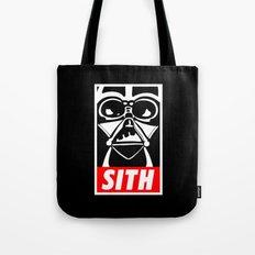 Obey Darth Vader (sith text version) - Star Wars Tote Bag