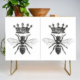Queen Bee | Black and White Credenza