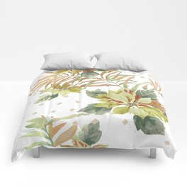 tropical summer Comforters
