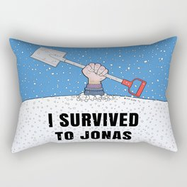 I SURVIVED TO JONAS Rectangular Pillow