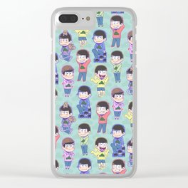 The Sextuplets Clear iPhone Case