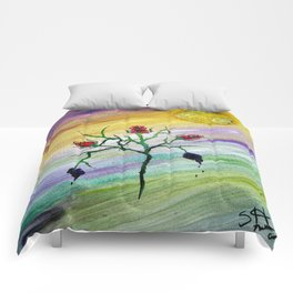 Tempered Rose Comforters