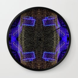 City Synthesis Wall Clock