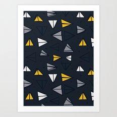 Triangle Trail Art Print